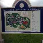 Campus map,see how its set up.
