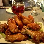 $5 wings. Leviathan Barley wine