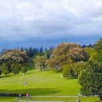 Cornwall Park entrance is a 8 minute walk