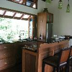 Kitchen in Baan Nest