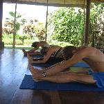 Yoga to tretch and strengthen