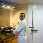 Chef Damien Rinaldi Dovio