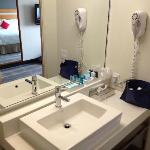 kamer 604 badkamer