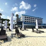 An elegant newly renovated beach hotel on a sunning sandy beach!