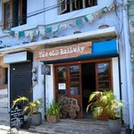 The Old Railway (front of cafe/shop)