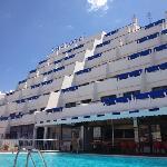 The Carlota and pool