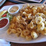 Calamari - very good and great price at Happy Hour!