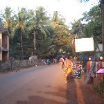 Road from Beach towards Somy