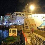 ferry back from Jordan