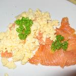 Eggs and Smoked Salmon for you?