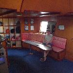 SALON ON THE BOAT