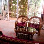 the 'balcony' :)