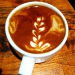 Latte w/ almond milk