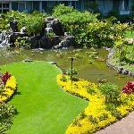 Resort Courtyard