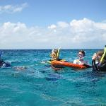 Snorkeling at Blue Hole