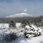 Mt. Monadnock in the winter
