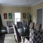 the fabulous dining room