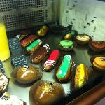 Part of the selection of cakes :-)