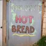 Hot Bread sign - turn left here!