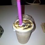 Delicious Marshmellow Brulee milkshake!