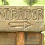 """The sign to """"El MIrador"""""""