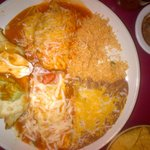 No.#16 Chimichunga,chili releno, tamale