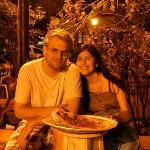 """Pizza en el Parque"" At Night"