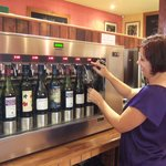 Wine serving system at the Cellar Door
