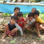 Kinder aus dem Dorf Tejakula