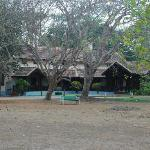 One of the four bungalows
