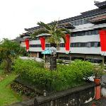 Hotel's ground ( THE HILLS, BATAM )