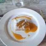 Strudel di Castagne e salsa di cachi