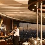 Al Dawaar, Dubai's only revolving restaurant  with spectacular views, serving lavish Internation