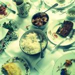 sit-down buffet