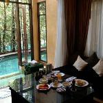 Breakfast in the Villa
