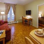 1 bedroom suite with sofa bed
