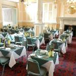 Full English breakfasts and four course dinners served