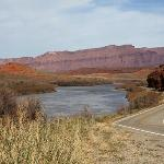 the Colorado River off of Highway 128