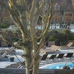 piscines vu de la chambre