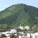 Cerro San Bernardo vue de la chambre 21