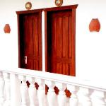 On the 2nd floor, room entrances