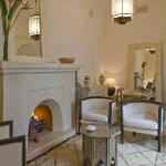 Fireplace living-room