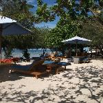 beach at Alam Gili