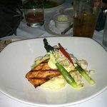 Canadian Salmon Oscar - delicious!