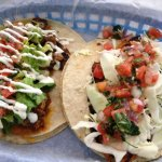 Fish Taco & Steak Taco