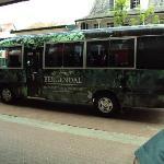 Bus from Paramaribo to Bergendal