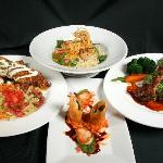 The delicious food served at Doc Martin's Restuarant located inside the Historic Taos Inn