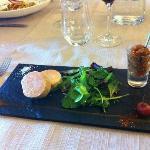 l'incontestable foie gras mi-cuit, juste délicieux