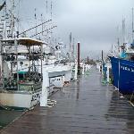 Pier across the street