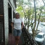 balcón del hotel